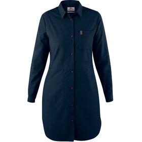 Fjällräven Övik - Vestidos y faldas Mujer - azul